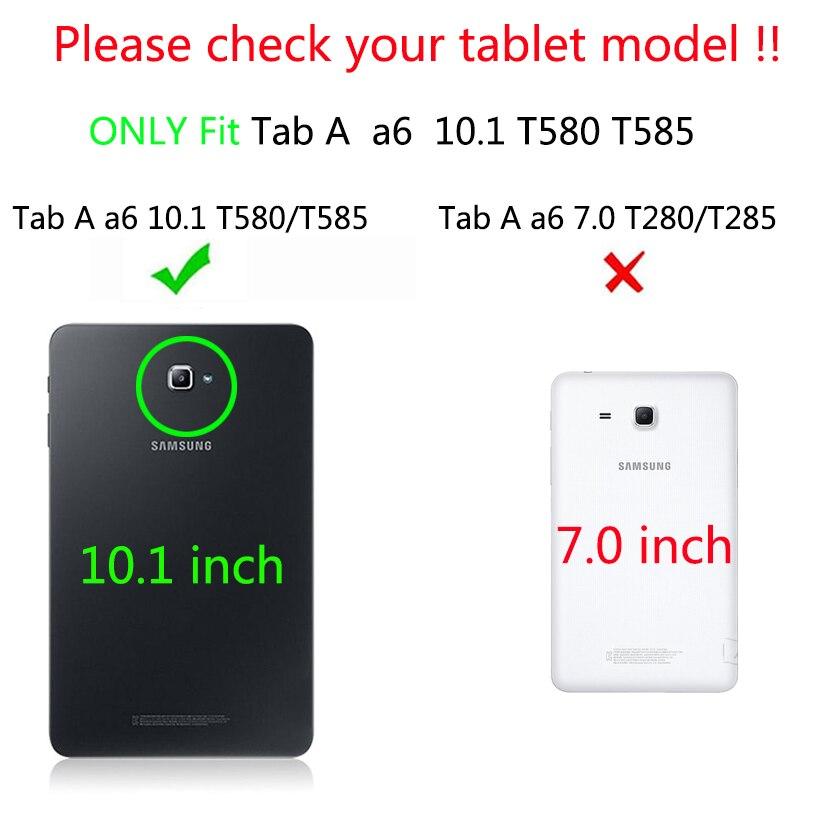 Funda original para Samsung Galaxy Tab A6 10.1 2016 T585 T580 SM-T580 - Accesorios para tablets - foto 2
