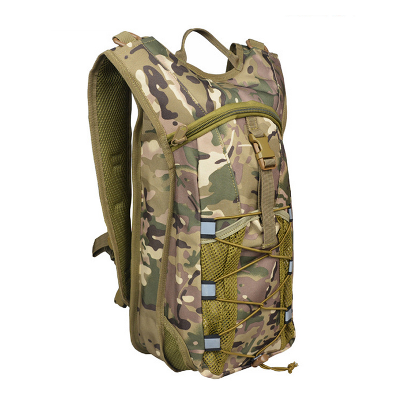 B67 New Camouflage Oxford Cloth Sports Shoulders Tactical Backpack Outdoor Water Bag Backpack Men And Women