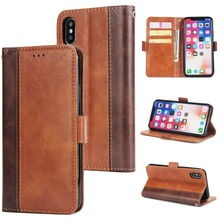 Flip Cases For iPhone X 8 7 6 6S Plus 5 5S SE Case Shockproof Wallet Cover XS MAX XR Leather Fundas