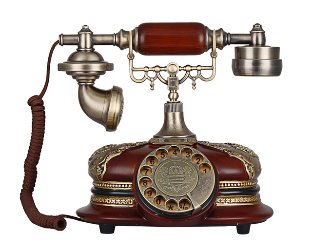 Thanksgiving Christmas Xmas Gift Christmas Luxury Classic Rotary Phone  Antique Telephone-Retro Vintage Home Desk - Thanksgiving Christmas Xmas Gift Christmas Luxury Classic Rotary