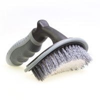 Car Wheel Cleaning Brush T Type Car Tyres Brush Soft Handle Washing Wrapping Tool Cleaner R
