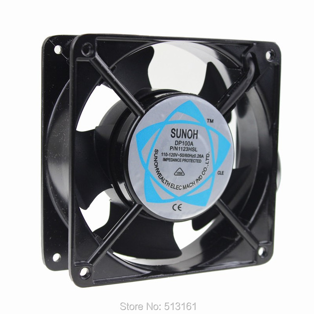 1 Pieces 12cm 120mm 110V 12038 Sleeve 120mm x 38mm Computer AC Cooling Fan