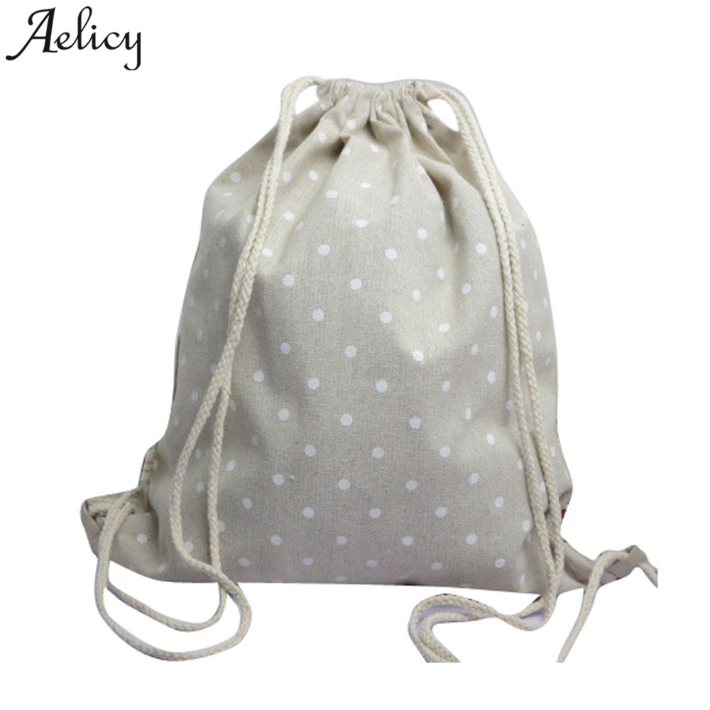 Aelicy 2018 Hot New Fashion Light High Quality Women Girls Unisex Backpacks Retro Printing Bags Drawstring BackpackAelicy 2018 Hot New Fashion Light High Quality Women Girls Unisex Backpacks Retro Printing Bags Drawstring Backpack