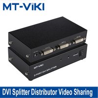 MT VIKI DVI Splitter Distributor Video Sharing 2 Port 1 input to 2 output multiple HDTV monitor Synch Display MT DV2H