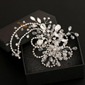 Free Shipping  handmade Elegant Wedding Bridal Hair Accessories Crystal Bridesmaid Bridal Party Hair Comb Hairpin 1Pcs