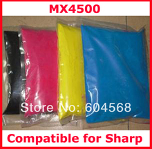 High quality color toner powder compatible for Sharp mx4500/4500 Free shipping