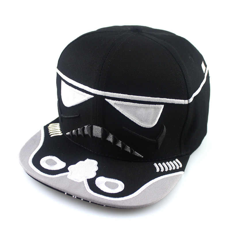 28765399d1d76 ... Star Wars Cosplay Trooper Baseball Caps Hip-Hop Spring Summer Autumn  Winter Cotton Snapback Hat ...