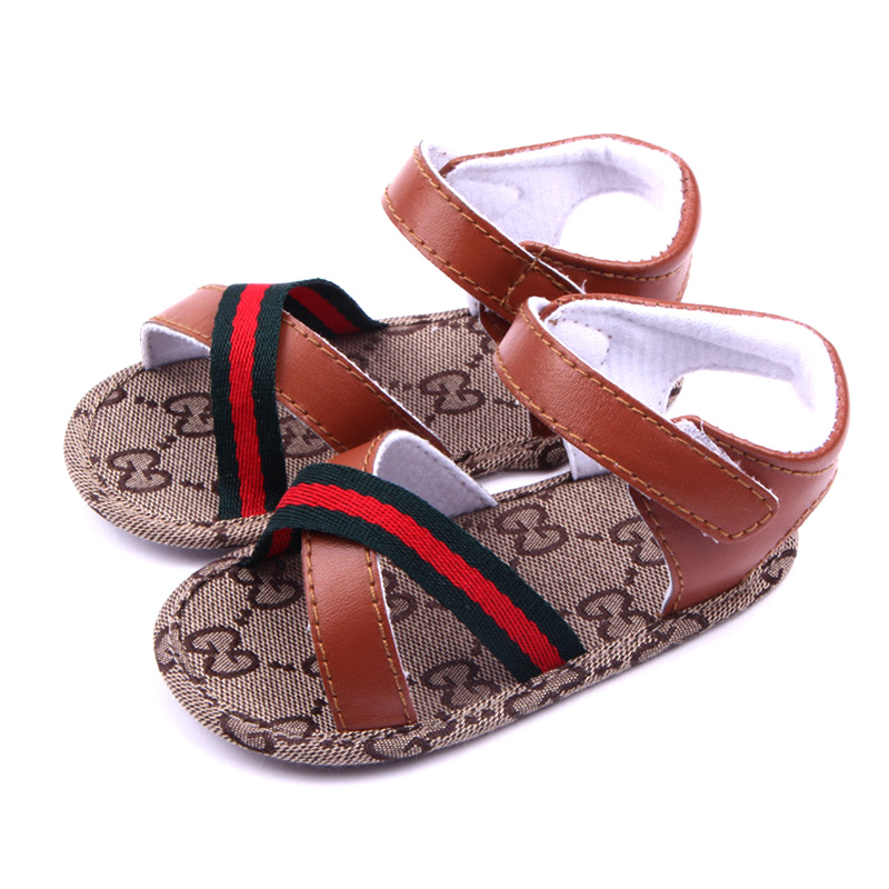 2018-New-Summer-Baby-Toddler-Sandals-Shoes-For-Baby-Boys-And-Girls-Vintage-Beach-Sandals-PU