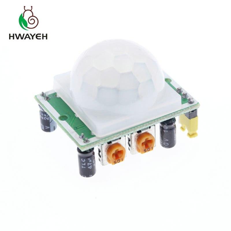 HC-SR501 Pyroélectrique Infrarouge IR PIR Détecteur Mouvement Capteur Détecteur Module US