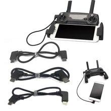 Кабель для передачи данных для DJI Spark/MAVIC Pro/Air control Micro USB для освещения/type C/Micro USB адаптер для IPhone IPad для Xiaomi