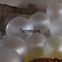 1m transparent frosted beach ball christmas festival decoration ball Sport Ball Swimming Pool Play Party Water Game Balloons