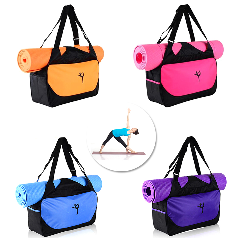 Multi Men Women Fitness Gym Sport Bags Yoga Mats Bags Backpack Pilates Carrier Shoulder Messenger Waterproof Bolso Borse 30