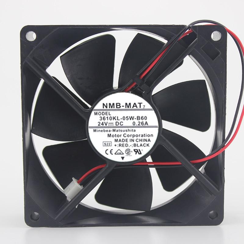 Spot original 3610KL-05W-B69 / B60 9025 24V 0.26A 9CM inverter fan