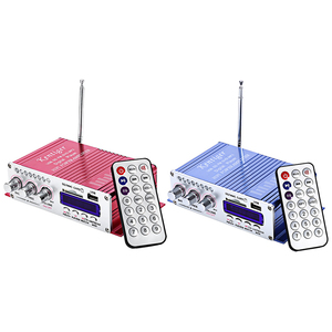 Image 5 - Kentiger hy502 amplificador estéreo do carro de áudio 12v mini 2ch super bass jogador música digital amplificador potência suporte usb mp3 fm hi fi