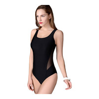 One Piece Professional Female Swimwear Sports Swimsuit Racing Competition Sexy Leotard Tight Bodybuilding Bathing Suit