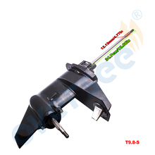 3B2S87301-0 коробка передач в сборе нижний блок в сборе с коротким валом для Tohatsu 9.8HP 8HP 2 тактный Подвесной Двигатель Parsun HDX 9.8BM