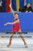 Crystal Custom Figure Skating Dresses Girls New Brand Ice Skating Dresses For Competition DR4538