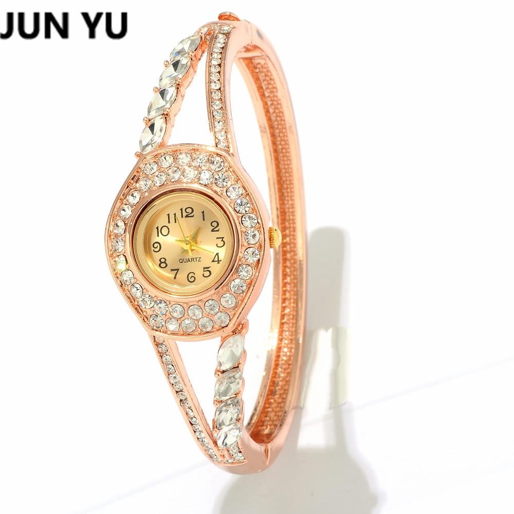 Rantai Tangan Permata Fashion Keemasan Oval Kuarsa Perhiasan Wanita Gelang  Jam Junyu Kristal Batu Gaun 1000x1000 3cb3c3cf44