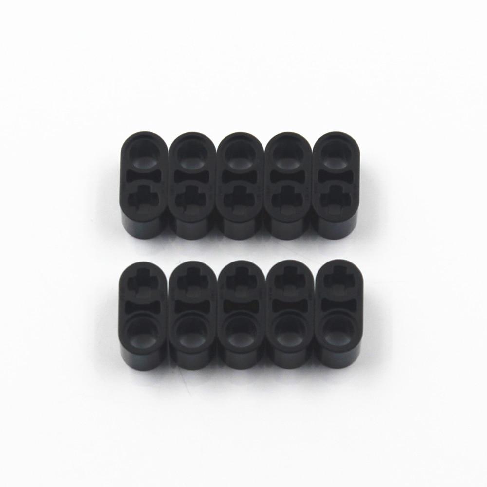 Self-Locking Bricks MOC TECHNIC Building Blocks 30PCS BEAM 1X2 W/CROSS & HOLE compatible with Lego