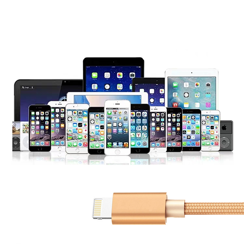 0 25M 1M 1 5M 2M 3M Braided USB Charging Data Cable for iPhone 5 5S 5C 6 6S 7 8 Plus X XR XS MAX Mobile Phone USB Charger Cables in Mobile Phone Cables from Cellphones Telecommunications