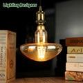 Mushroom led lamp pandent lamp edison bulb dimmable light 4W 220V E27 vintage led filament bulb table lamp