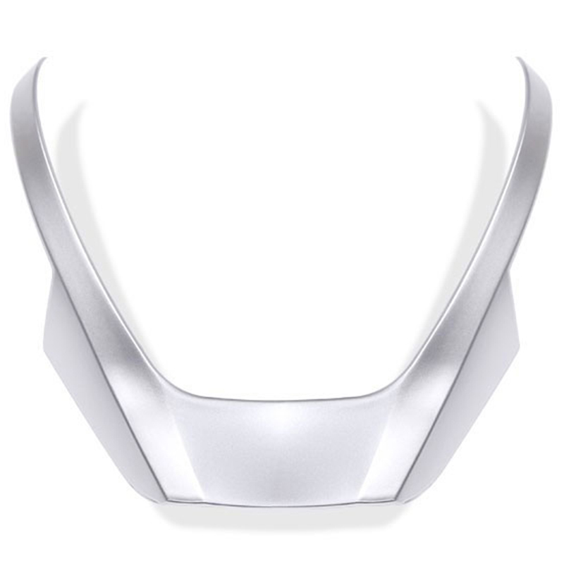 For <font><b>BMW</b></font> X3 X4 <font><b>X5</b></font> <font><b>F15</b></font> F25 F26 2014-2016 ABS Chrome Steering Wheel Cover Trim <font><b>Stickers</b></font> Car Styling Accessory image