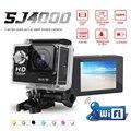 Goldfox sj 4000 wifi 1080 p hd câmera de ação de esportes dv filmadora capacete da bicicleta cam mini câmera à prova d' água