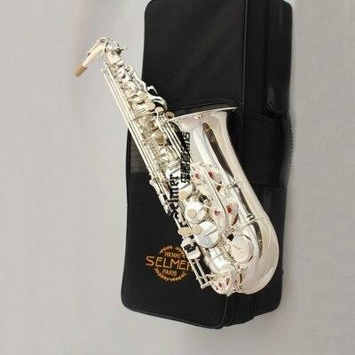 Selmer 54 Alto Saxophone and Professional Mouthpiece Eb Alto Sax Saxophone with gloves, spokesperson, nylon case vandoren sm602b a45 jumbo java mouthpiece alto saxophone alto sax mib eb mouthpiece