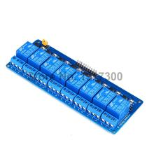 5PCS  24V 8 Channle Relay Module Relay Expansion Board Low Level Triggered For Arduino PIC ARM  Free Shipping