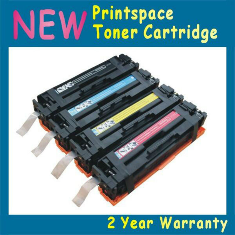4x NON-OEM Toner Cartridge Compatible For HP 201 201x CF400x Color Laserjet Pro MFP M277 M277n M277dw M274n KCMY