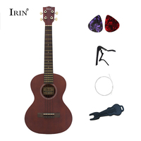 Cheap Red brown Ukulele 26 Inch The Guitar 4 Strings Concert Ukulele Tenor Rosewood Fingerboard Hawaii ukelele travel guar