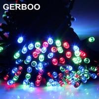 Outdoor zonnepaneel Aangedreven Licht 200 LED automatische Tuin waterdicht Christmas Party String Fairy Decoratie Lamp