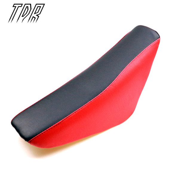TDR Motorcycle Parts Tall Gripper Seat for Honda CRF XR 50 Pit Bike SDG SSR BBR Baja Coolster 70 125C Red Seats USATG105 HHY