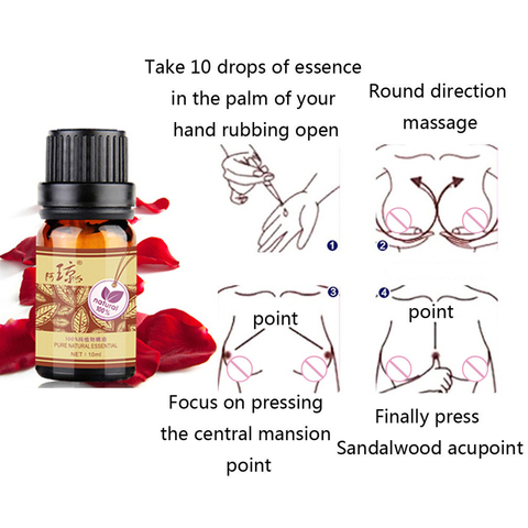10ml Breast Enlargement Essential Oil for Breast Growth Big Boobs Firming Massage Oil Beauty Products for Women Butt Enhancement Karachi