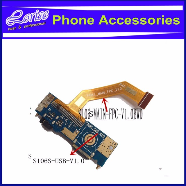 China clone For IPhone 6s USB Charge Dock SUB PCB Micro USB Charging Board  : S106S USB V1 0 Flex : S106S MAIN FPC V1 0BWD-in Mobile Phone Flex Cables