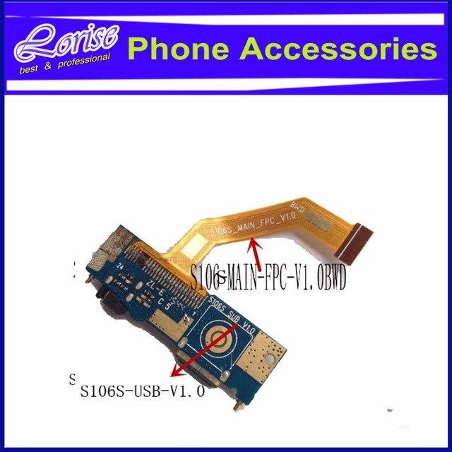 China sub pcb clon para iphone 6 s muelle de carga usb cargador micro usb bordo: s106s-usb-v1.0 flex: s106s-main-fpc-v1.0bwd