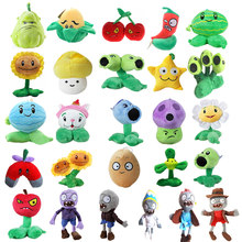 20 Styles Plants vs Zombies Plush Toys 12-28cm Plants vs Zombies Soft Stuffed Plush Toys Doll Baby Toy for Kids Gifts Party Toys(China)