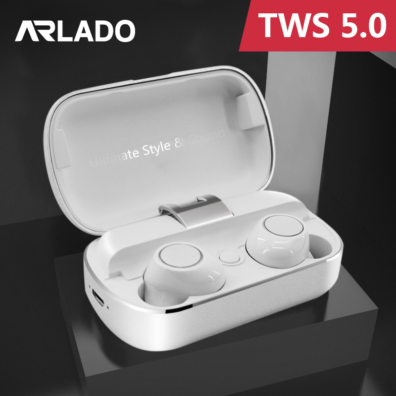 Arlado <font><b>S8</b></font> <font><b>TWS</b></font> Binaural Earphone High Quality Bluetooth Wireless Stereo Sports Headset In Ear Noise Reduction Earbuds for phones image