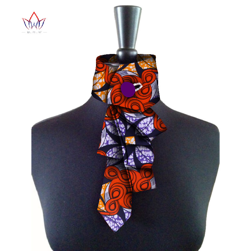 African New False Collar For Women And Bowknot Colorful Detachable Collars Women Clothes Accessories 16 Colors WYB130