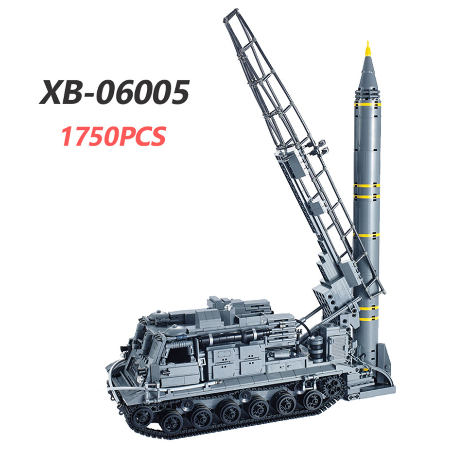 Xingbao 0600106004060050600606007 armas militares série tanque missle