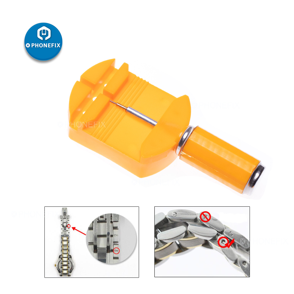 Watch Repair Tools Kit Watch Band Slit Strap Bracelet Chain Pin Remover Adjuster 28mm Men/Women Watch Link Remover Tool