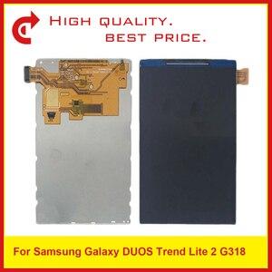 Image 1 - 10 шт./лот AAA ЖК Дисплей для samsung Galaxy Trend Lite 2 G318H G318 ЖК Экран дисплея замена