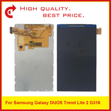 10 pz/lotto AAA Display Lcd Per Samsung Galaxy Trend Lite 2 G318H G318 Lcd Screen Display di Ricambio