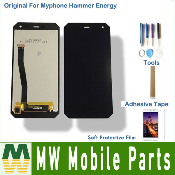 1 pc/lot AAA qualité Pour Myphone Marteau D'énergie LCD Écran + Écran Tactile Assemblée Noir Couleur