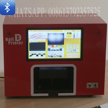 latest model DIY bluetooth nail art printer machine mobil wireless transfer photo digital nails printing machine