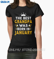 Gildan Only4U Create T Shirt Online Women S Short Sleeve Zomer O Neck The Best Grandpa