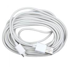 5M Adaptador Micro USB Cabo de Carregamento de Dados para Samsung xiaomi Branco & Preto 500 centímetros 300 centímetros 100 centímetros