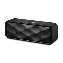 4.2 bluetooth-динамик Hi-Fi портативный беспроводной, Mp3 плеер приемник аудио fm-радио с USB AUX TF карты Бумбокс колонка