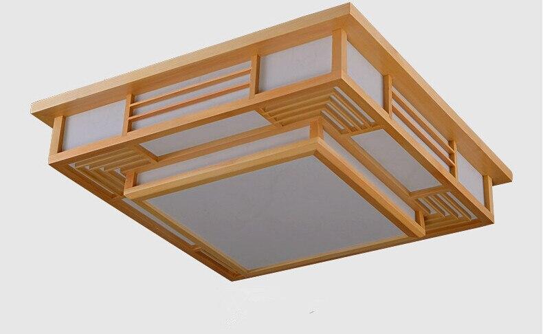 Japanese contemporary led ceiling lights fixture wood decorative japanese contemporary led ceiling lights fixture wood decorative lamp lantern living room asian interior ceiling light aloadofball Choice Image