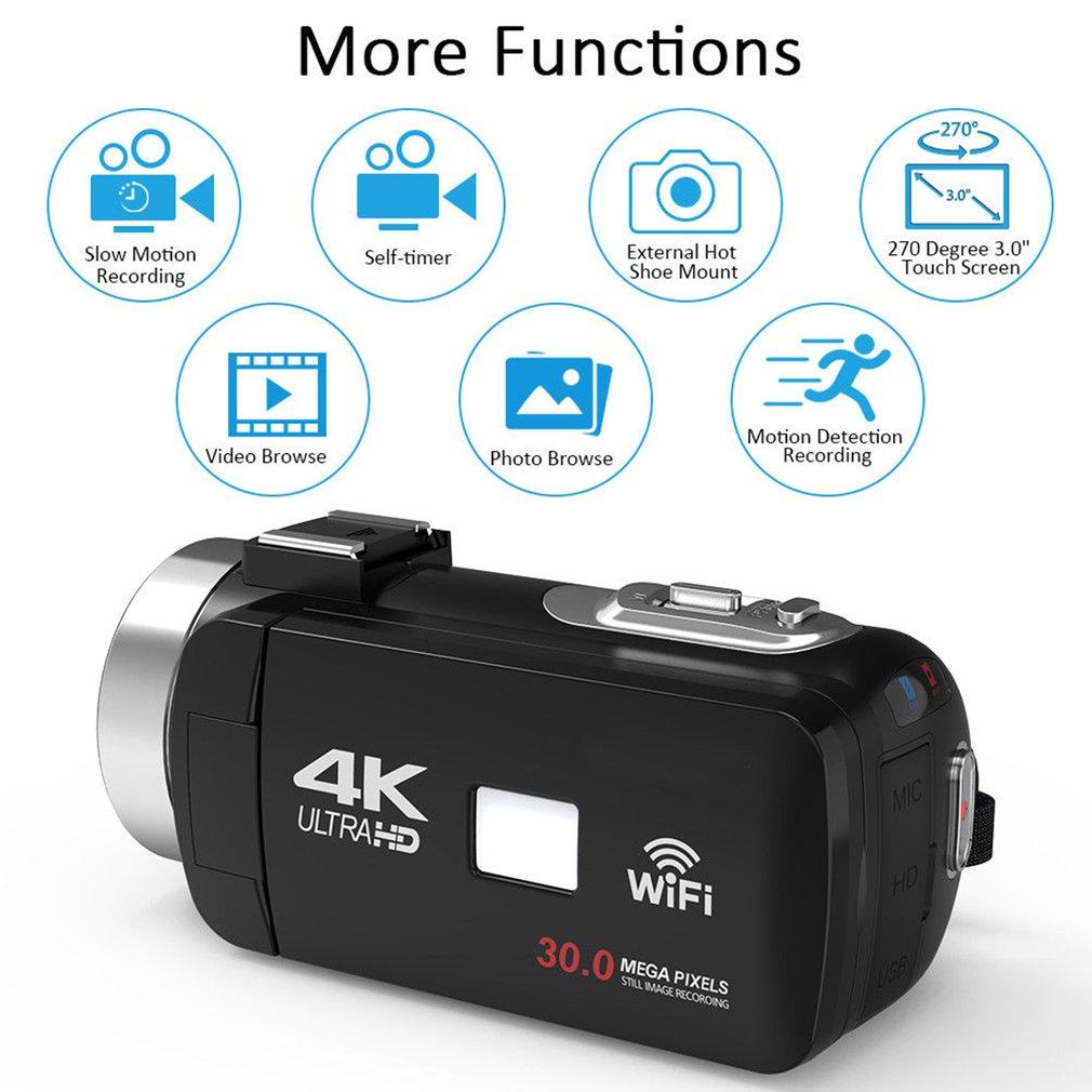 HTB1eKs7aUT1gK0jSZFrq6ANCXXaz HDV4K HD digital camera night vision 30MP DV WIFI touch screen infrared fill light Camcorder Recorder